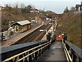 SJ4385 : Hunt's Cross Station by Stephen McKay
