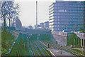 TQ3276 : Westward from Denmark Hill station, 1971 by Ben Brooksbank