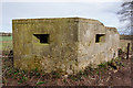 SJ7924 : Pillbox overlooking the A519 by Ian S