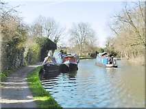 TQ1683 : Perivale, moorings by Mike Faherty
