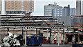 J3373 : Former railway goods sheds (demolition), Belfast - April 2016(2) by Albert Bridge