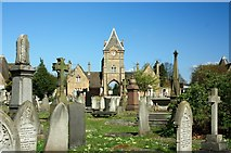 SK3736 : Nottingham Road Cemetery, Derby by Francis Dolman