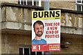J3373 : Assembly election poster, Ormeau Avenue, Belfast (April 2016) by Albert Bridge