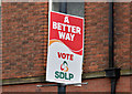 J3373 : Assembly election poster, Bedford Street, Belfast (April 2016) by Albert Bridge
