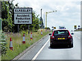 SK6776 : Southbound A1, Elkesley Accident Reduction Scheme by David Dixon
