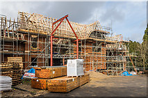 TQ2550 : St Mary's Church Centre - under construction by Ian Capper