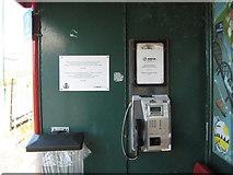 SH6214 : Train information-Morfa Mawddach, Gwynedd by Martin Richard Phelan