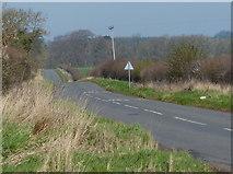 TL0394 : Road heading towards Apethorpe by Mat Fascione