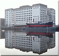 TQ4080 : Millennium Mills, Royal Victoria Dock, London, E16 by David Hallam-Jones