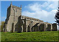 TL0394 : St Mary's Church in Woodnewton by Mat Fascione