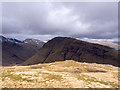 NN3434 : Grassy shelf on north-east ridge of Beinn Odhar by Trevor Littlewood