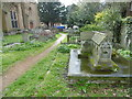 TQ2971 : The Montefiore  family grave in St Leonard's Churchyard, Streatham by Marathon