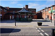 SJ6807 : Bandstand on High Street, Dawley by Ian S