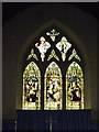 TM1354 : St.Mary's Church Stained Glass Window by Adrian Cable