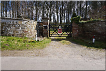 SJ7908 : Entrance to Knoll Lodge from Mill Lane by Ian S