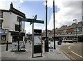 SJ8990 : New pedestrian signage by Gerald England