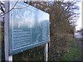 SJ8500 : RAF Base Sign by Gordon Griffiths