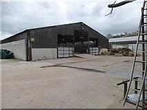 SS8404 : Cattle barn at Bremridge Farm by David Smith