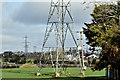 J2263 : Pylons and power lines, Lurganure, Lisburn (April 2016) by Albert Bridge