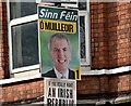 J3372 : Assembly election poster, Stranmillis, Belfast - April 2016(4) by Albert Bridge