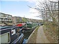 TQ2582 : Westbourne Green, moorings by Mike Faherty