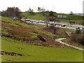 SD8210 : M66 from East Lancs Railway Embankment near Heap Bridge by David Dixon