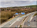 SD8210 : M66 Junction 2 (Heap Bridge) by David Dixon