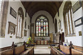 TF0543 : Chancel, St Denys' church Silk Willoughby by J.Hannan-Briggs