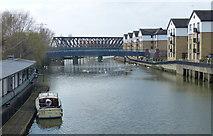 TL1998 : The River Nene in Peterborough by Mat Fascione