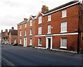 SJ5441 : Three-storey houses, Dodington, Whitchurch, Shropshire by Jaggery