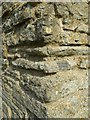 SO8842 : Detail of Dunstall Castle by Philip Halling