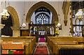 TF0471 : Interior, St Clement's church, Fiskerton by Julian P Guffogg