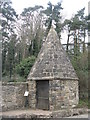 SK4022 : Round House at Breedon on the Hill by M J Richardson