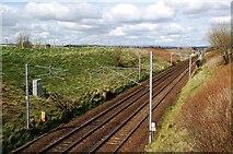 NS9740 : Railway Near Covington by Mary and Angus Hogg