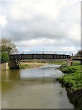 TQ1913 : Stretham Bridge by Simon Carey