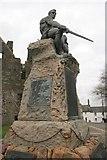 NX6851 : War Memorial, Kirkcudbright by Richard Sutcliffe