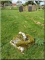 SK8857 : Churchyard cross by Richard Croft