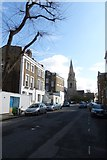 TQ3084 : Towards St. Andrew's Church by DS Pugh