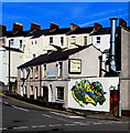 ST3088 : Reptiles mural, Baneswell, Newport by Jaggery