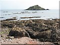 SX5048 : Rocky shore off Wembury Point by Philip Halling