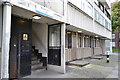 TQ3277 : Entrances, 1-20 Broome Way, Camberwell by Robin Stott