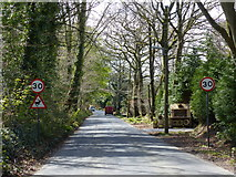 SY0284 : Marley Road, looking south-west by Rob Purvis