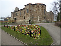 TL9925 : Colchester Castle by Jeremy Bolwell