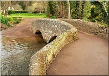 SS9843 : Gallox Bridge by Derek Harper