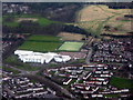 NT0369 : Deans Community High School, Livingston by M J Richardson