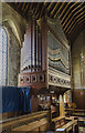 TF0851 : Organ, All Saints' church, Ruskington by Julian P Guffogg