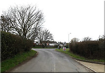 TM0659 : Mill Street, Stowupland by Adrian Cable