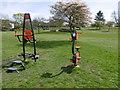 TQ1386 : Play equipment in Alexandra Park by Marathon
