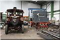 SK2406 : Statfold Barn Railway - steam wagons by Chris Allen