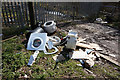 SK4484 : Flytipping off Rotherham Road, Beighton by Ian S